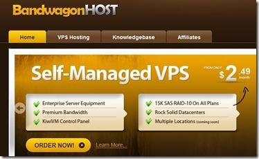 BandwagonHost:性价比超高 $9.99/年 512MB 5G 多数据中心 一键快照