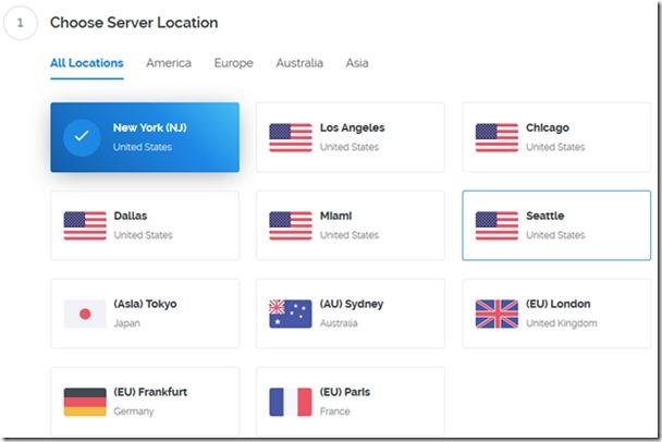 新手开通Vultr VPS主机及选择系统配置及机房图文教程